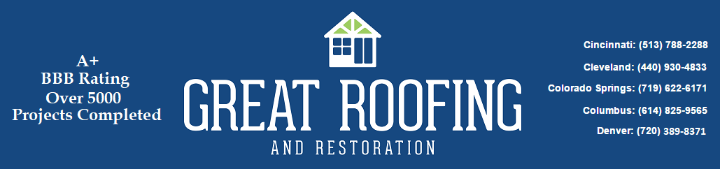 Great Roofing | Roofing Denver, Columbus, Cincinnati, Cleveland & Colorado Springs