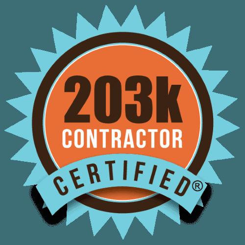 203k contractor certified