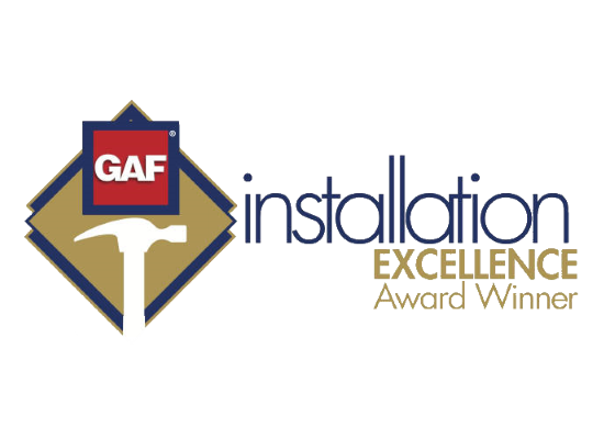 GAF installation Excellence Award
